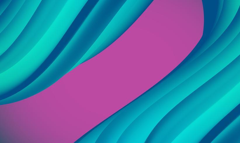 Fondo abstracto colorido de la forma para hacer publicidad, ilustración del vector