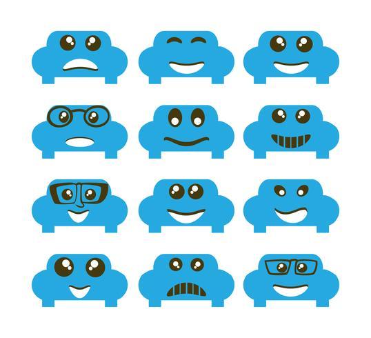 Emoji emoticon expressie pictogrammen