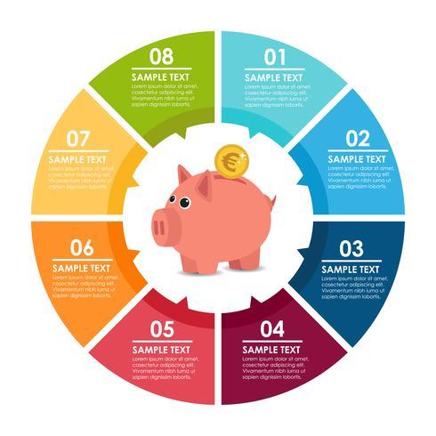 Infographie de la banque