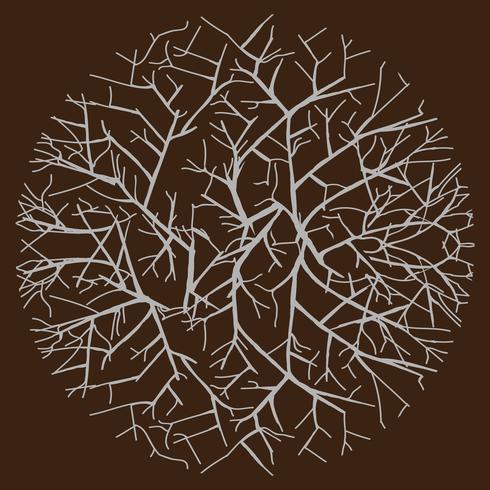 patroon met abstract