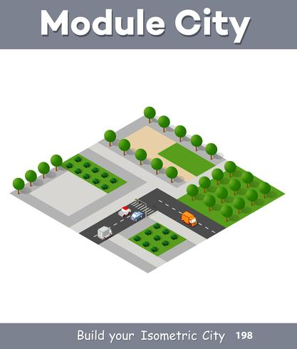 Expressway med bilar