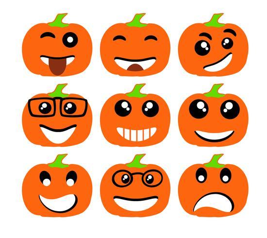 Emoji emoticon expresión iconos vector
