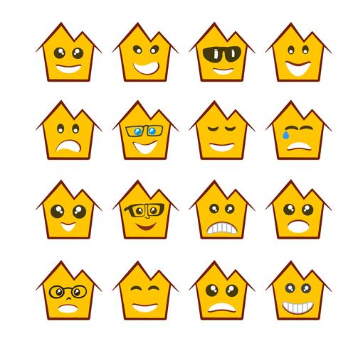 icônes d'expression emoji emoticon