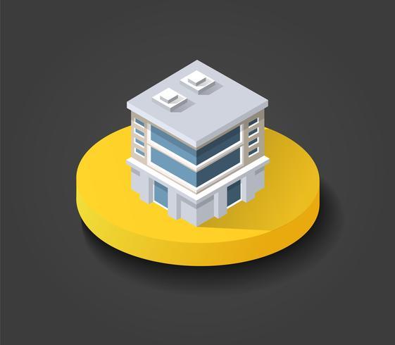 Isometric 3D shop