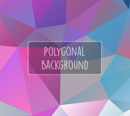 Polygonal background for craft
