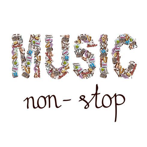 Musica composicion de palabras