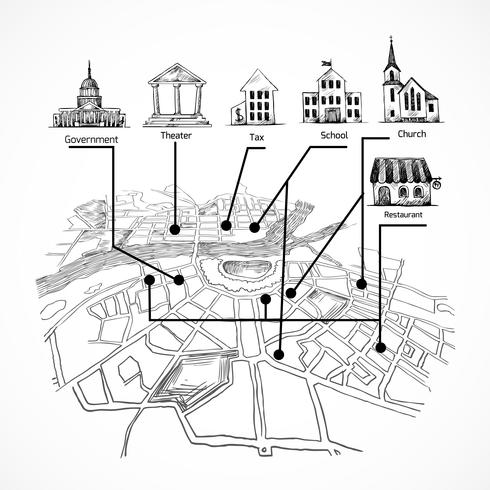 Information stadskarta
