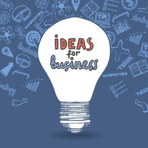 Stratégie commerciale ampoule et dessin