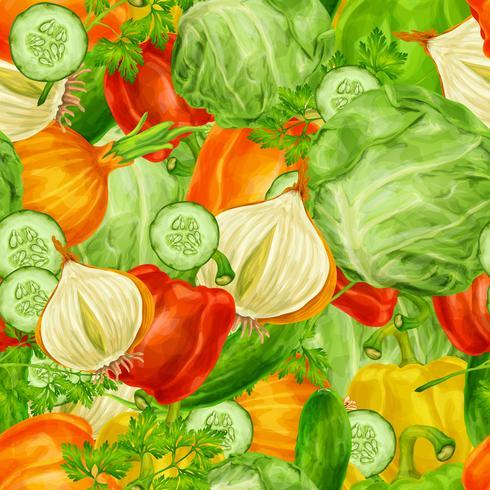 Groenten mengen naadloze achtergrond