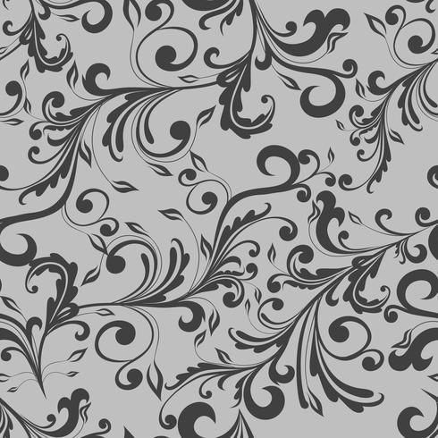 Blommigt sömlöst mönster vektor