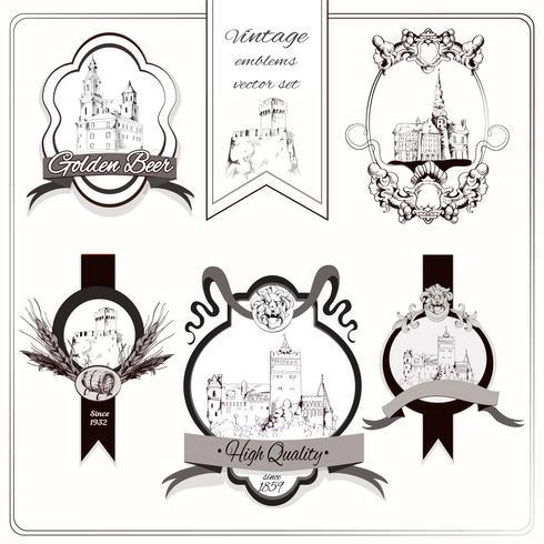 Emblemas da cidade velha
