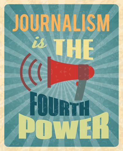 Poster di giornalismo