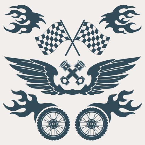 Motorcycle design elements