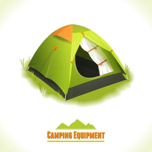 Camping symbol tält