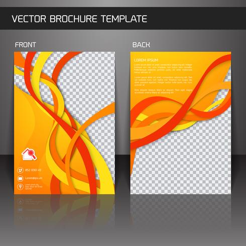 Modèle de brochure Flyer