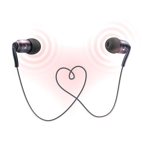 Cartaz de tampões de fones de ouvido