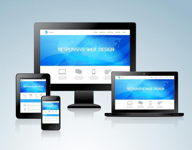 Concepto de diseño responsivo