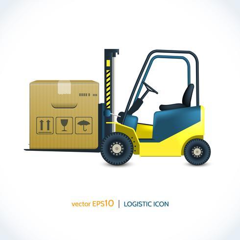 Chariot élévateur logistique