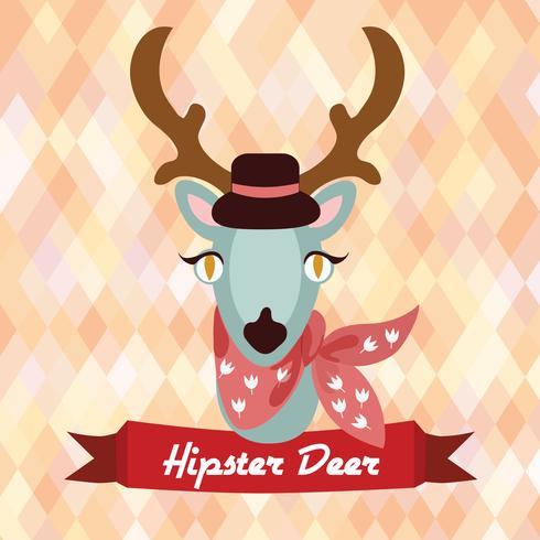 Hipster Hirsch Poster