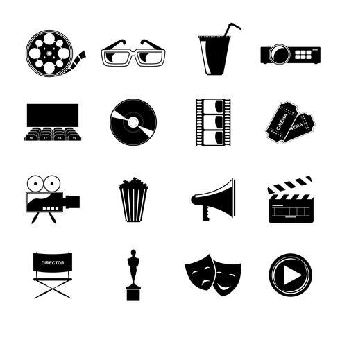 Cinema ikoner inställda