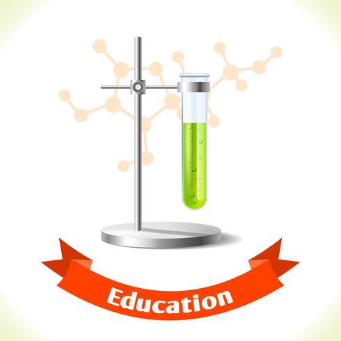 Tube à essai icône de l'éducation