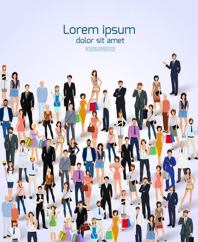 Poster von Menschen