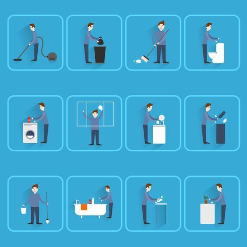 Nettoyage des icônes plats