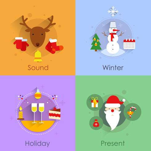 Conjunto plano de Natal