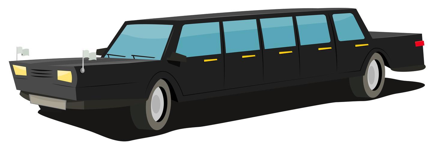 Diplomatisches Auto vektor