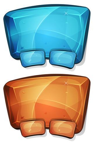 Cartoon Diamond Panel für Ui-Spiel