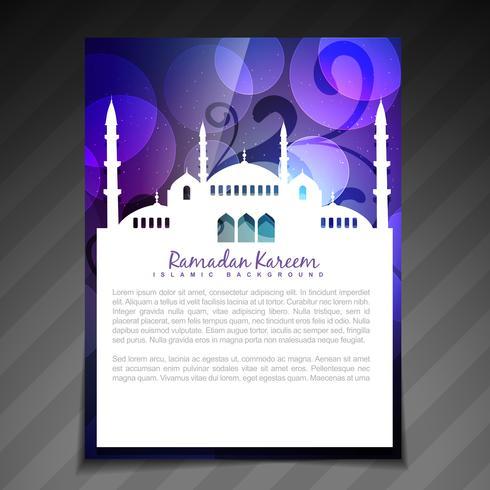 modello di ramadan lucido