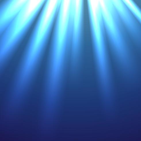 beautiful illustration of rays lights vector