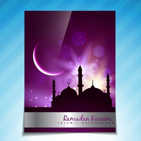 schöne Ramadan Festival Vorlage