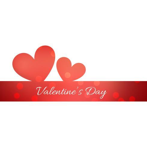 eenvoudige valentijn dag achtergrond
