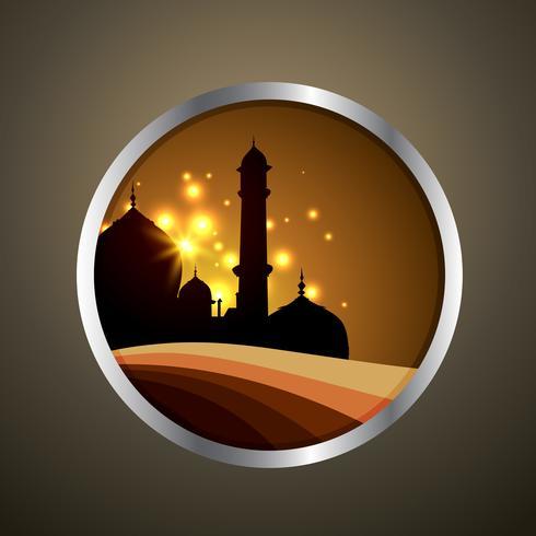 etiqueta de ramadan de vector