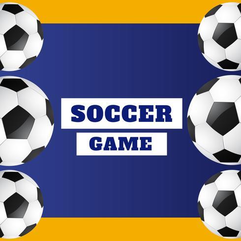 diseño de fútbol con estilo