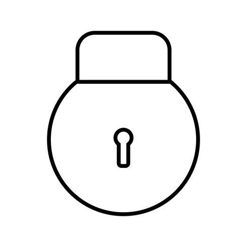 Linea di accesso icona nera