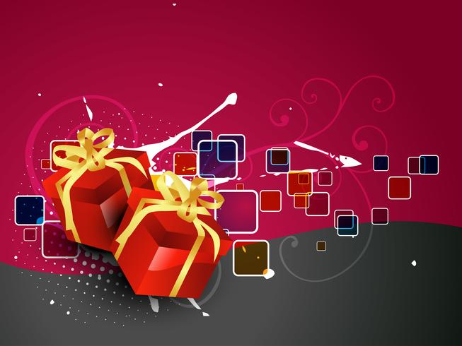 illustration de boîte cadeau