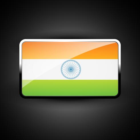 indische Flaggensymbol