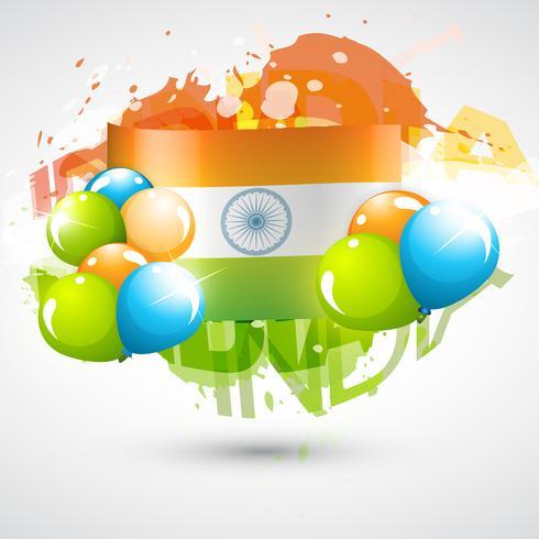 design della bandiera indiana