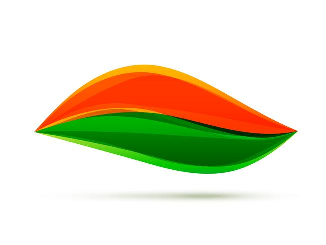 illustrazione di progettazione bandiera indiana