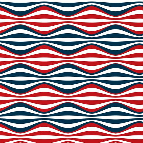seamless red blue stripes vector