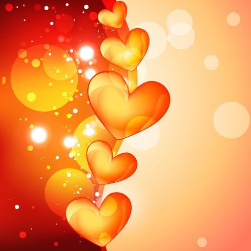 desenho de coração de vetor