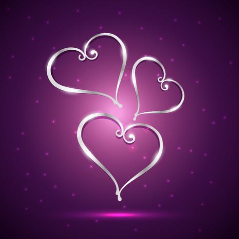 illustration de beau coeur