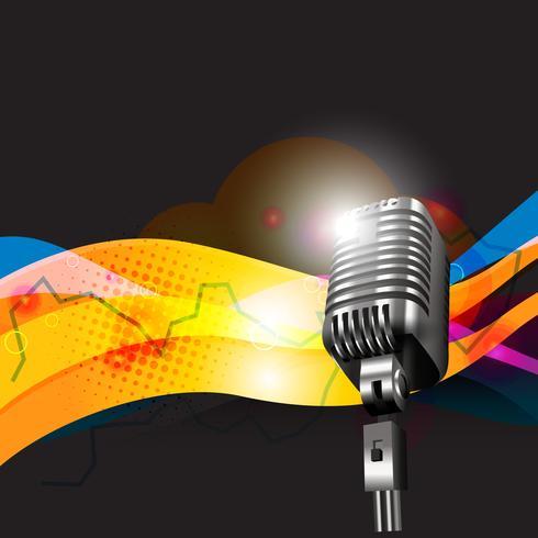 vettore mic design art