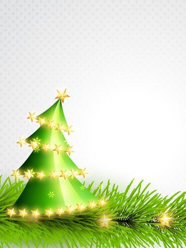 árvore de natal verde vetor