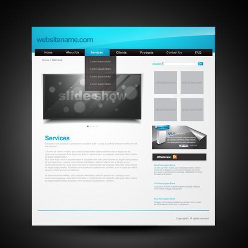 sito Web vettoriale