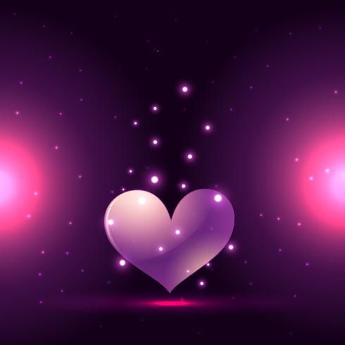 beautiful heart background