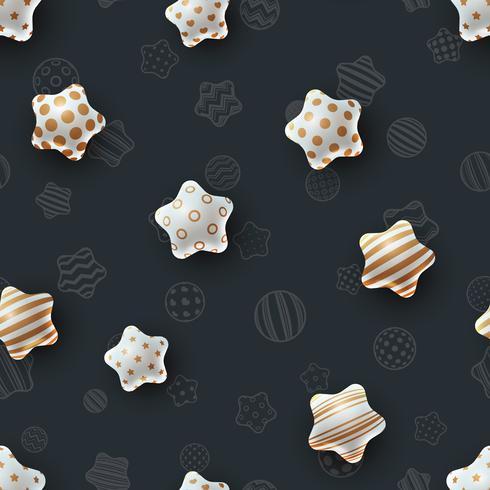 Happy birthday. Beautiful seamless pattern.