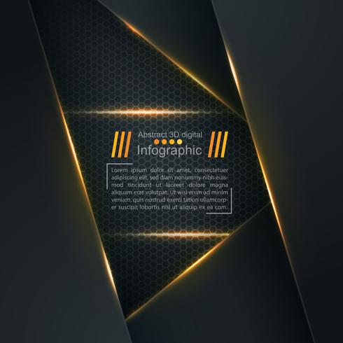 Paper light background - Business template.